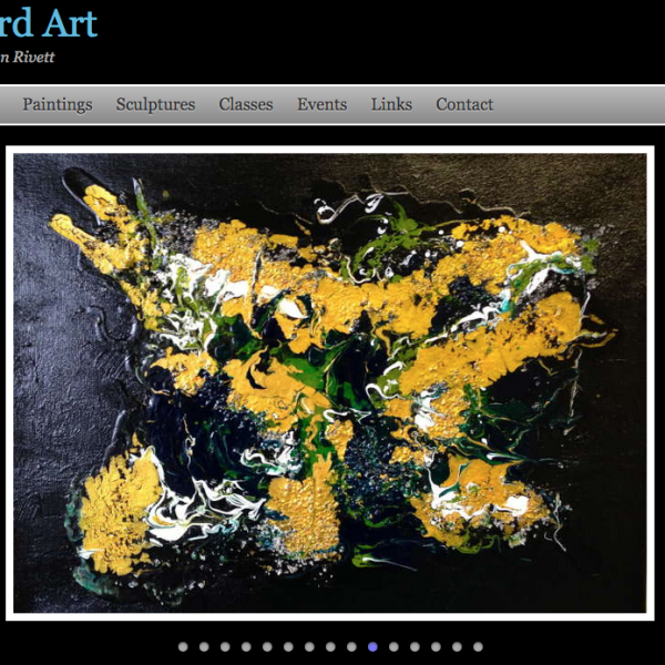 Art Catalog Home Page Slide Show